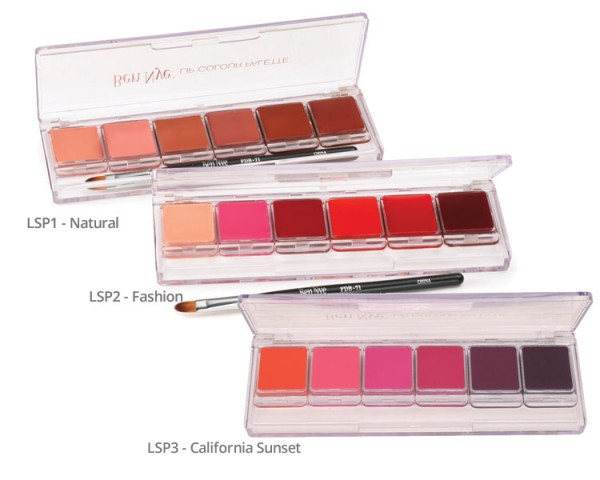 Lip Colour Palette 6er