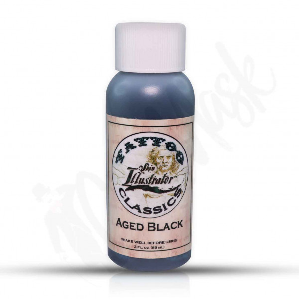 Skin Illustrator Tattoo 2oz-59ml Make Up Aged Black